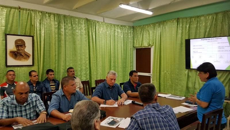 Inicia Díaz-Canel segunda visita de gobierno a Villa Clara