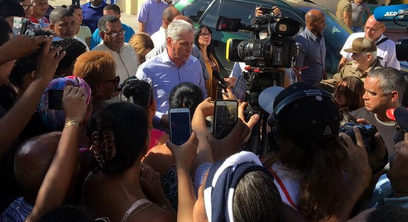 Presidente Díaz-Canel inicia visita a Guantánamo