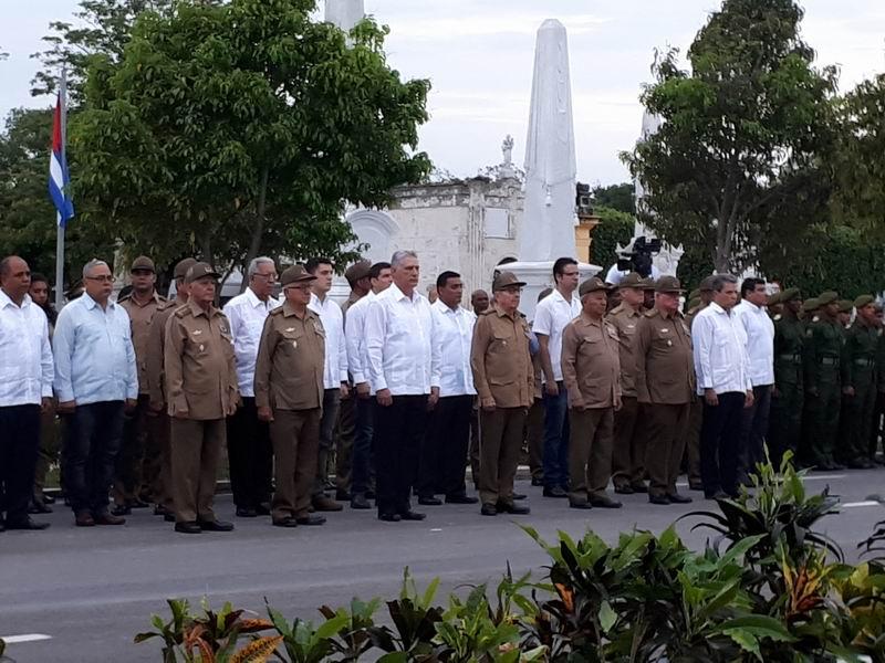 Raúl and Díaz-Canel participate in tribute to Máximo Gómez