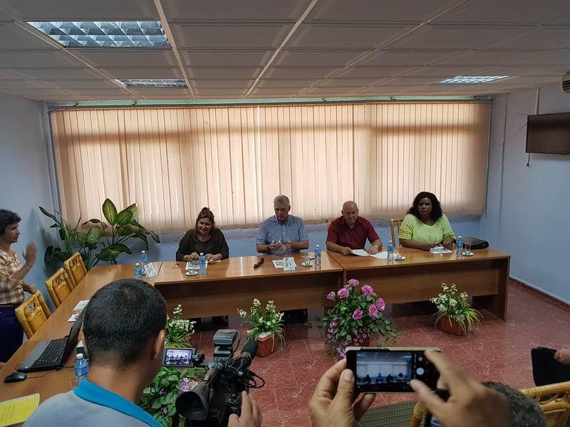 Presidente cubano inicia visita de gobierno a Camagüey