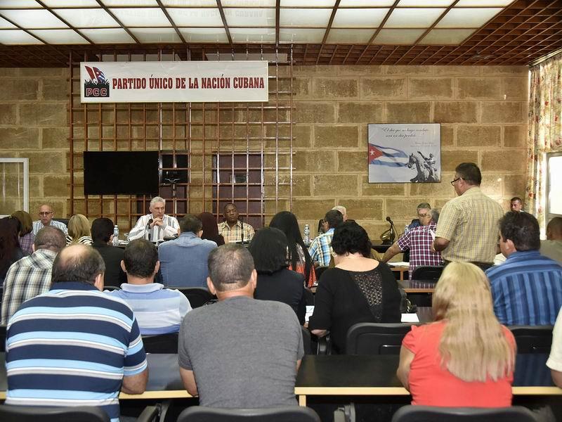 Prosigue Díaz-Canel visita de trabajo a Ciego de Ávila