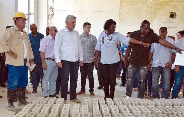 Cuba advances in housing construction