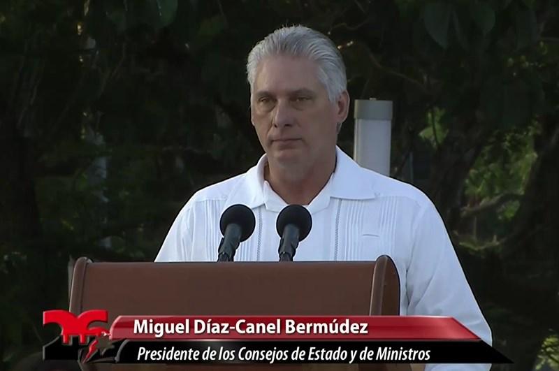 Miguel Díaz-Canel: El 26 de Julio siempre será una gran inspiración (+Audio)