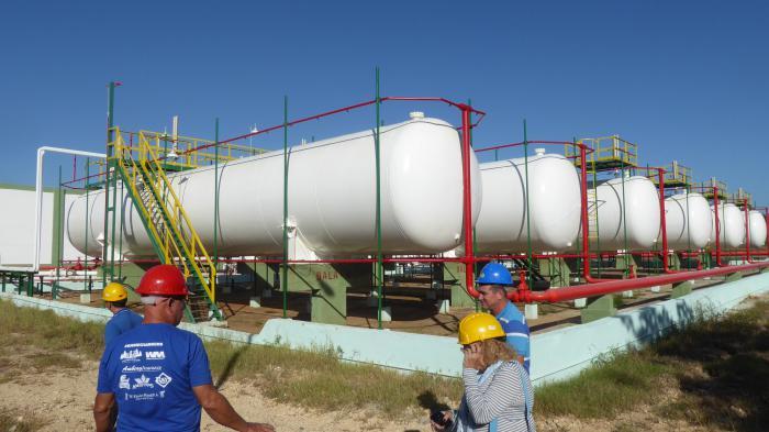 En Cuba aumenta capacidad de almacenamiento de gas licuado