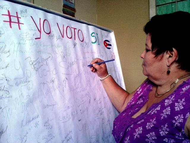Federadas cienfuegueras ratifican votar por la Constitución