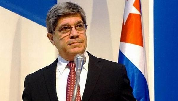 Declaraciones de Carlos Fernández de Cossío, director general para Estados Unidos de la Cancillería cubana, sobre la Ley Helms Burton