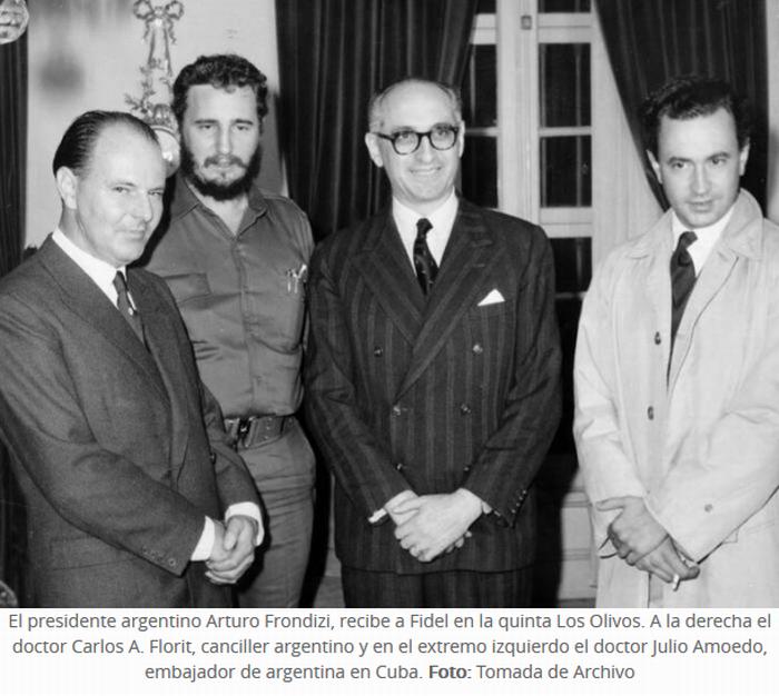 Fidel vive en la memoria de los argentinos