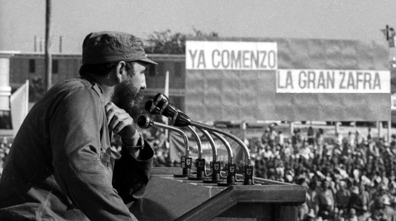 El acto de homenaje a los integrantes de la primera brigada millonaria en Cuba