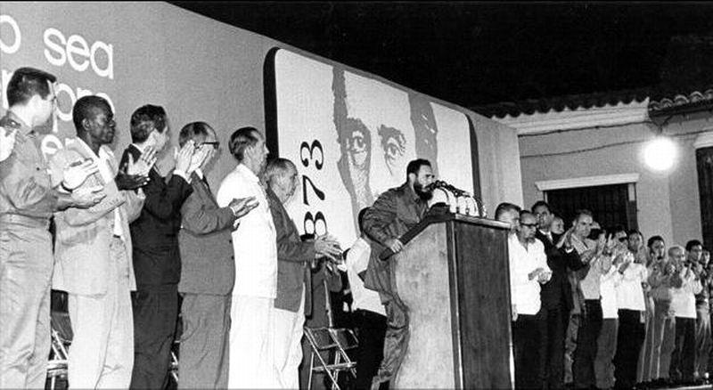 Fidel Castro el 11 de mayo de 1973 al rendir homenaje al Mayor General Ignacio Agramonte y Loynaz