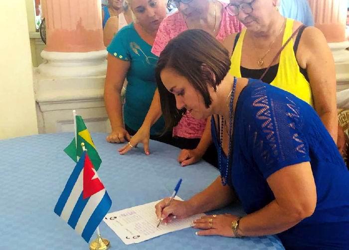 Cuba recoge firmas por la libertad de Luiz Inácio Lula da Silva