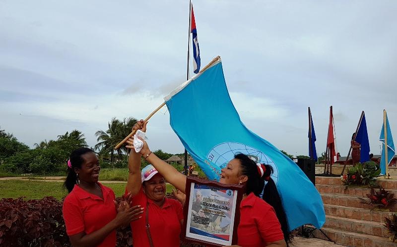 Cubiteñas a la vanguardia en la Federación de Mujeres Cubanas