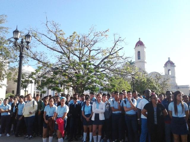 Formalizaron jóvenes cienfuegueros inscripción en Registro Militar