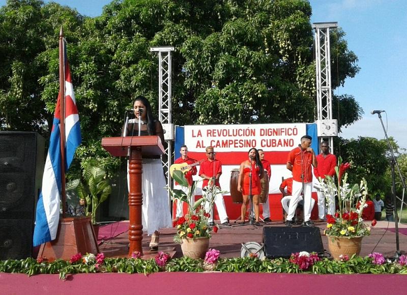 Celebrado en Guantánamo acto por el Día del Campesino