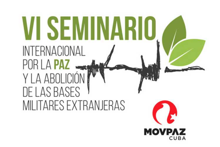 Sesionará en Guantánamo Sexto Seminario Internacional de Paz