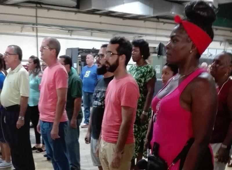 Reafirman apoyo a Venezuela trabajadores de la Imprenta Federico Engels