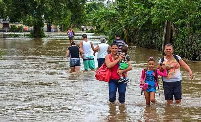 Inundaciones en Holguín