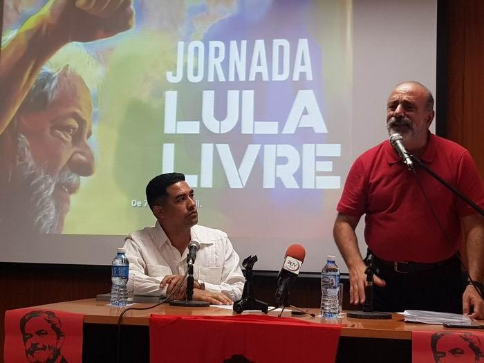 En Cuba, una Jornada de Solidaridad con Lula