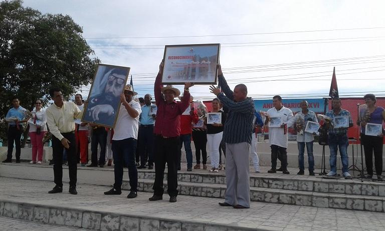 Inauguraron un grupo de obras sociales en Puerto Padre