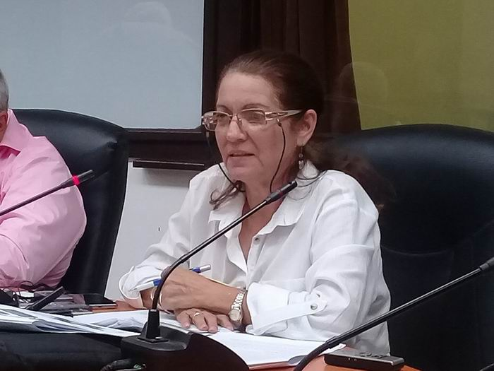 Directora de Inversiones del Instituto de Planificación Física Magalys Rivero Ramírez