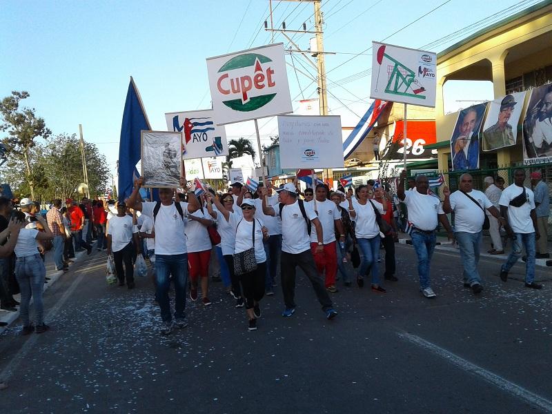 En Mayabeque, un desfile histórico