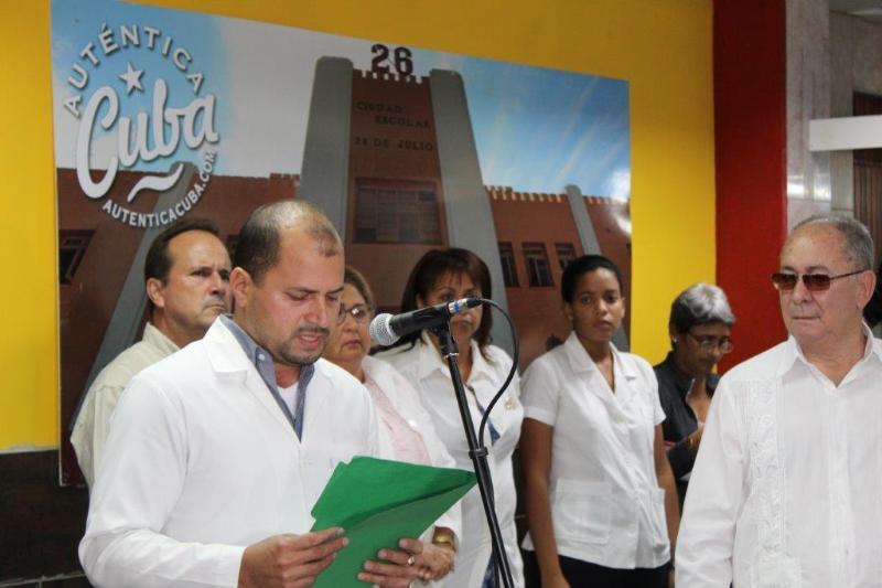 El primer grupo de trabajadores de la salud cubano provenientes de Ecuador, arribó al aeropuerto internacional Antonio Maceo de Santiago de Cuba