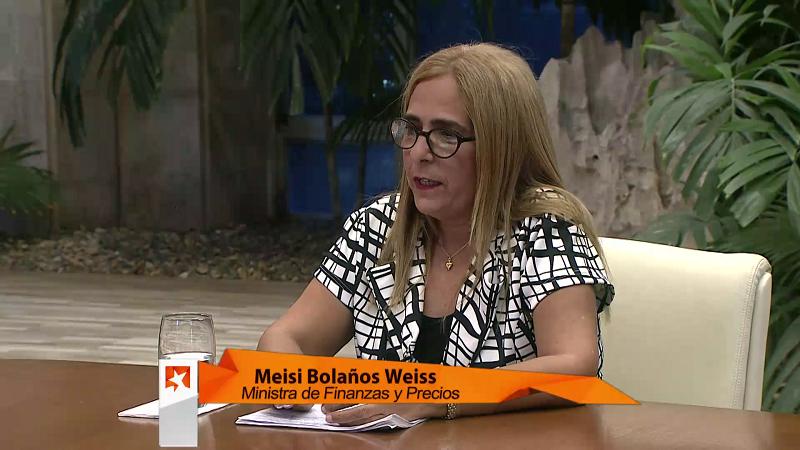 Meisi Bolaños Weiss, Ministra de Finanzas y Precios