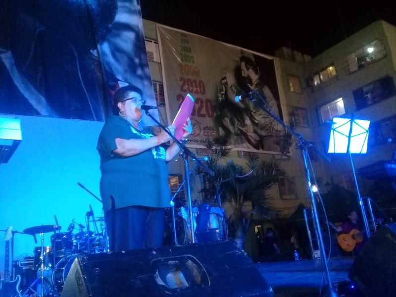Milagro Rivera, presidenta del Comité de Solidaridad con Cuba en Puerto Rico