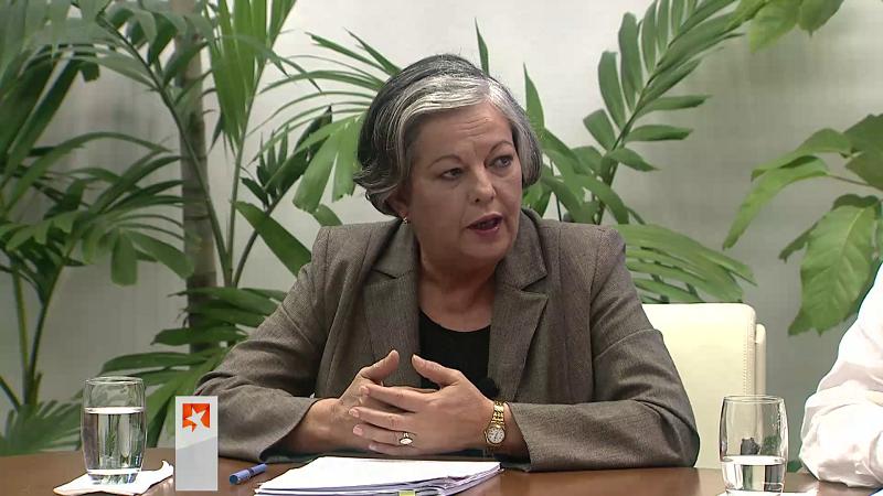 Ministra de Trabajo y Seguridad Social, Margarita González
