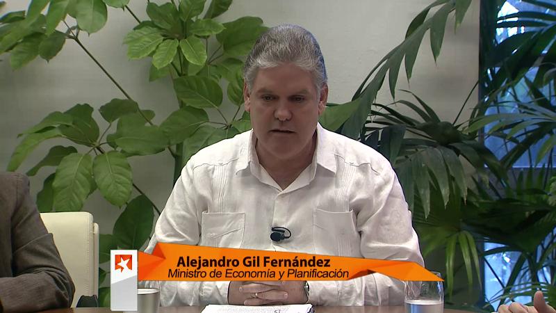 El titular de Economía y Planificación, Alejandro Gil Fernández