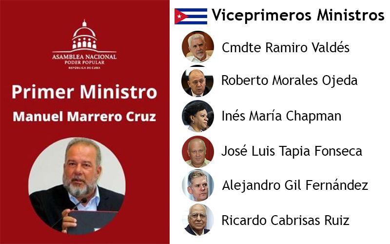 Designan a Manuel Marrero como Primer Ministro de Cuba
