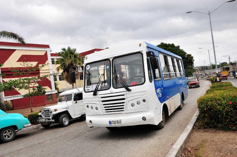 Transportación de pasajeros en Sancti Spíritus viaja hacia la recuperación