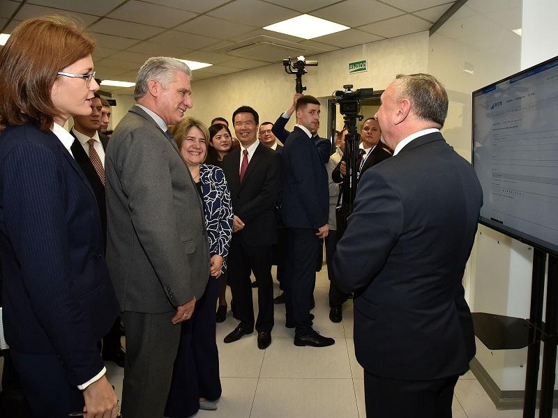 Llega Díaz-Canel a Bielorrusia, en el marco de gira por países europeos