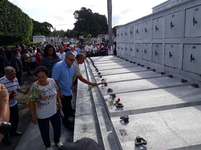 Recuerdan los cubanos a las víctimas del terrorismo de Estado