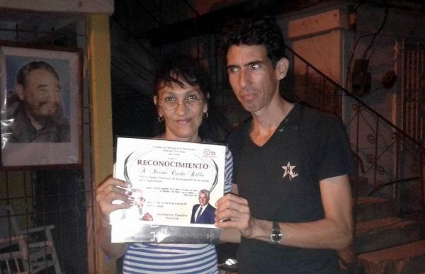Homenajean cederistas a los periodistas tuneros