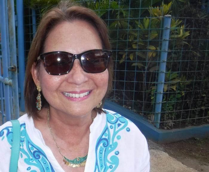 Representante en Cuba del Programa de las Naciones Unidas para el Desarrollo, PNUD, Maribel Gutiérrez