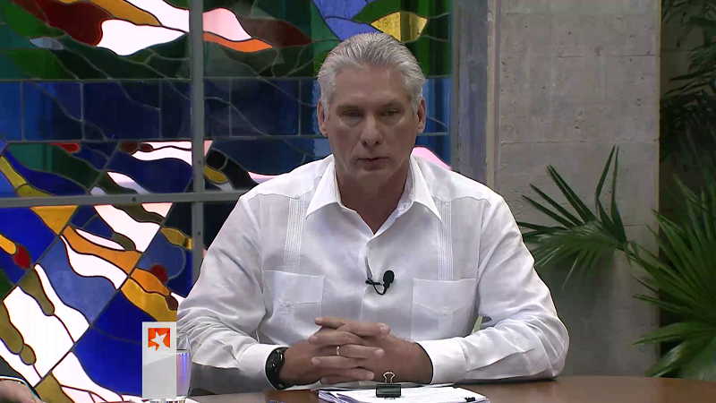 Diaz-Canel: New economic measures will only succeed if the people make them their own