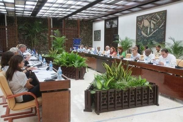Sesionó en La Habana primer Comité Conjunto entre Cuba y la Unión Europea