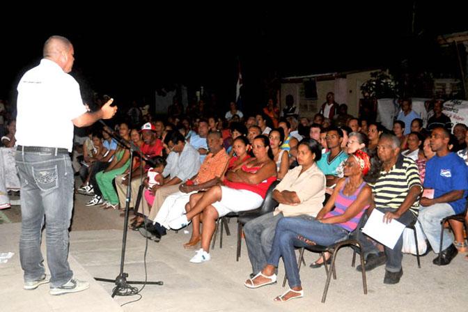 Voluntad y cooperación de los santiagueros en proceso de rendición de cuenta