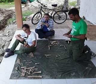 Hallan en Playa Girón restos de miliciano caído durante invasión mercenaria