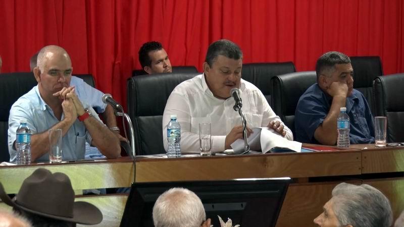 Rafael Santiesteban Pozo, miembro del Consejo de Estado y presidente de la ANAP