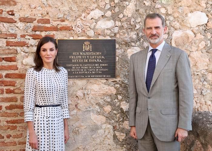Concluyen visita oficial a Cuba los Reyes de España