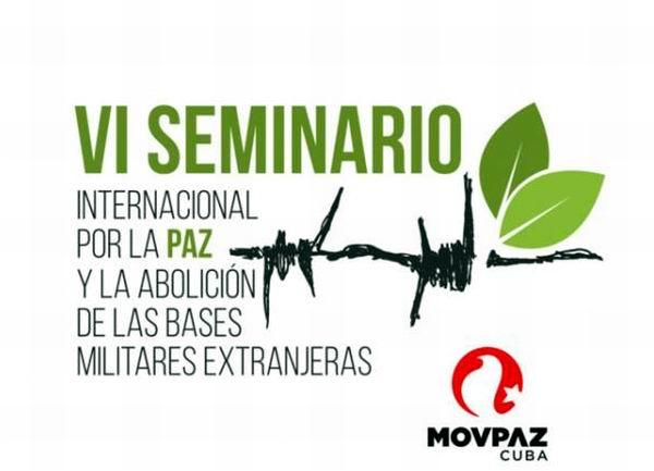 Sesiona en Guantánamo Seminario Internacional de Paz