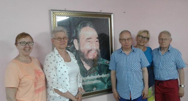 Solidaridad Finlandia-Cuba en Las Tunas