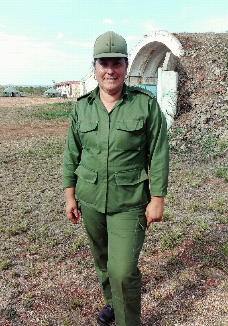 Teniente Coronel Maricelys Pérez Pérez