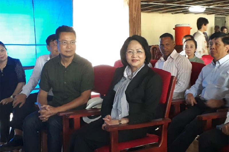 Vice President of Vietnam Reviews Project in Cuban Province