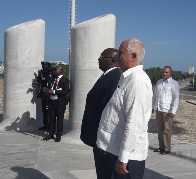 Vicepresidente de Ghana desarrolla visita oficial en Cuba