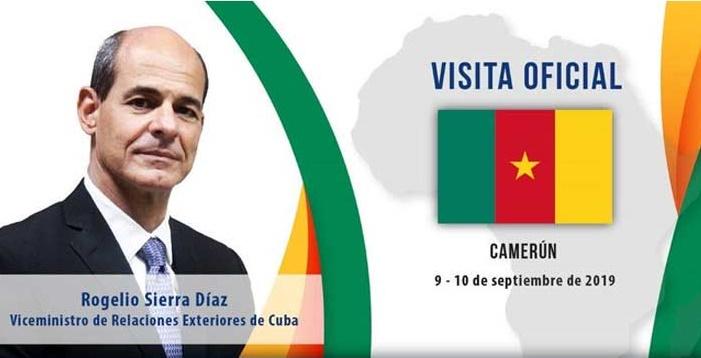 Fortalecen Cuba y Camerún vínculos bilaterales