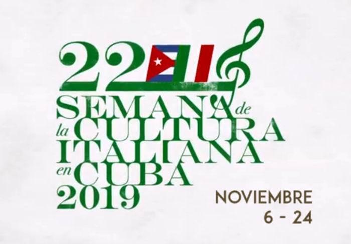 Inicia en La Habana Semana de la Cultura Italiana