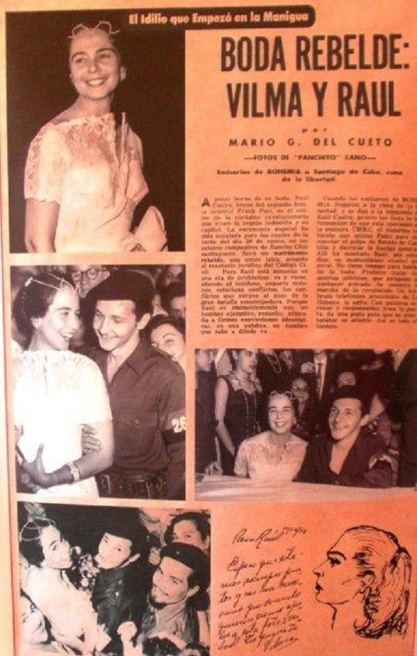 60 años de una boda rebelde (+Fotos)