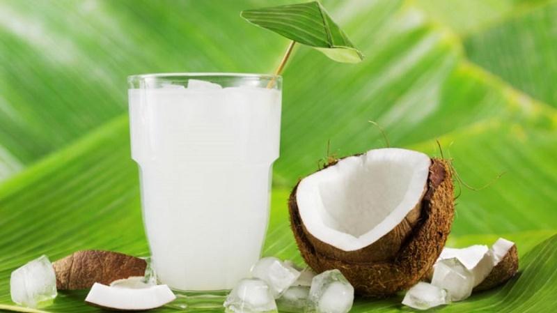 Una ensalada muy exótica, de coco